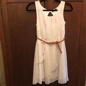 White KLD signature dress size small